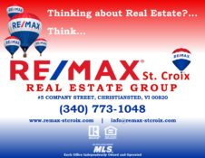 RE/MAX St. Croix Real Estate Group, 5 Company Street, Christiansted VI 00820, 340-773-1048