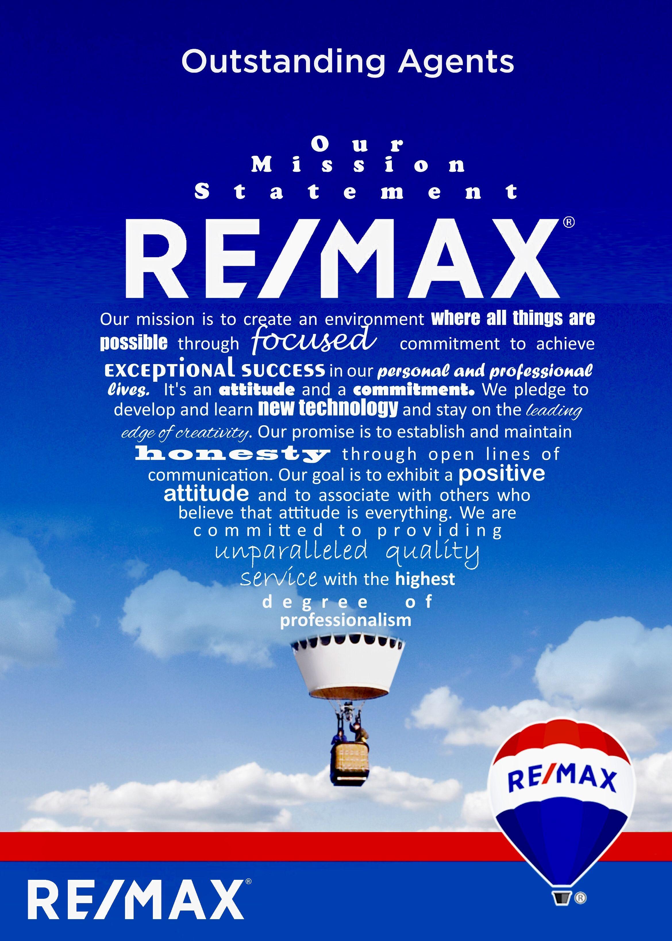 RE/MAX Mission Statement